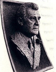 Portrait bust of Mr Lawrence Batley