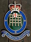 The London Regiment badge, London Guildhall