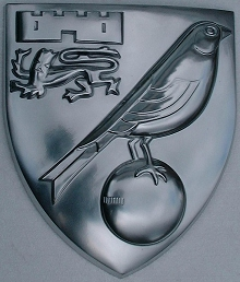 Norwich City Football Club shield
