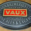 Plaque made for Vaux Breweries Ltd