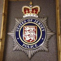 States of Jersey Police badge 1 metre high for Jersey Police HQ.