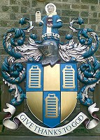Worshipful Company of Girdlers coat of arms, 1 metre high.