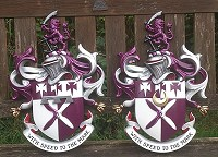 Collier coats of arms. First and second sons' versions.